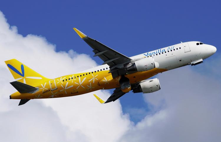 самолет Vanilla Air